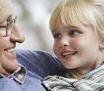 Grandparent with Grandchild
